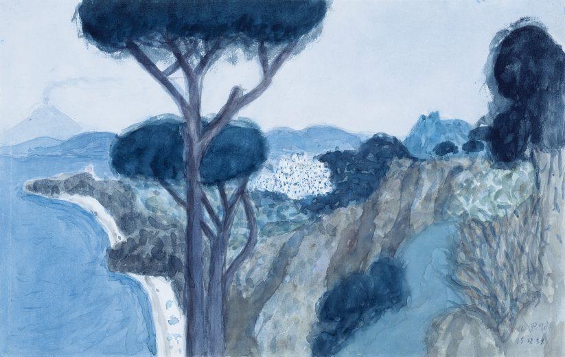 Ischia mit Blick auf Vesuv