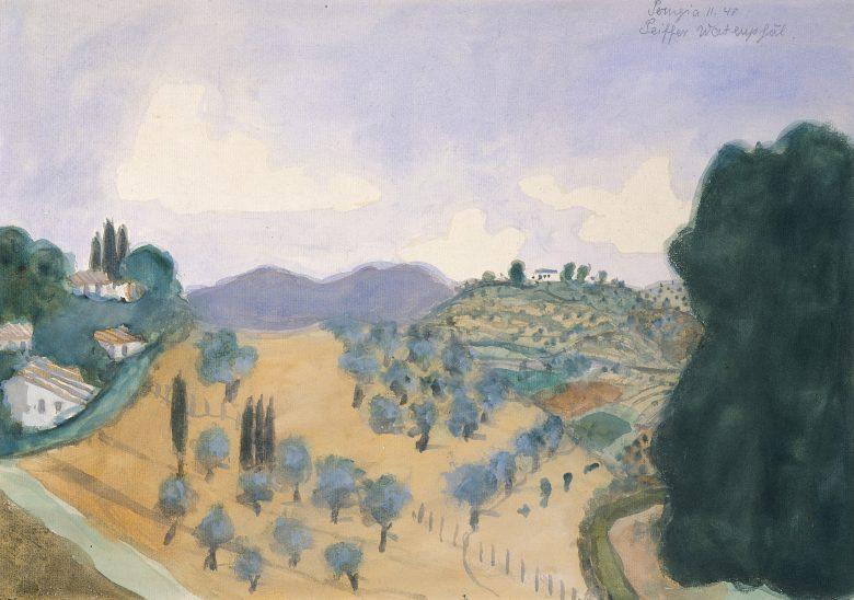 Landschaft bei Perugia, 1940