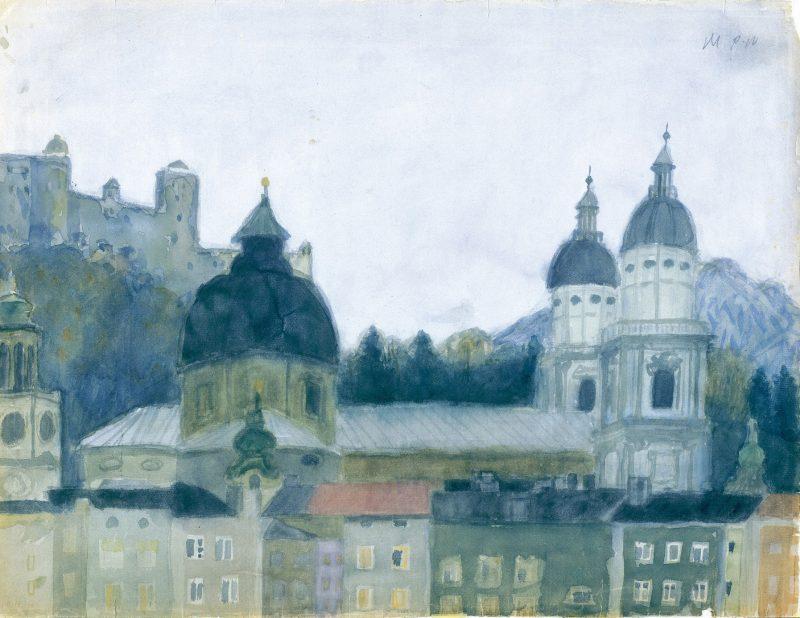Salzburg Dom und Festung