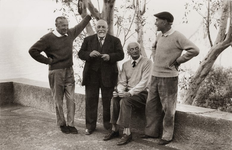 On Ischia with Hans Purrmann, Richard Parrisius, and Eduard Bargheer