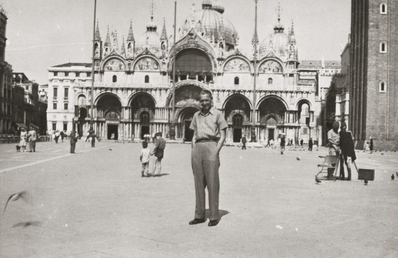 Max Peiffer Watenphul in Venedig