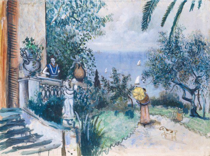 Südliche Landschaft (zweite Fassung)