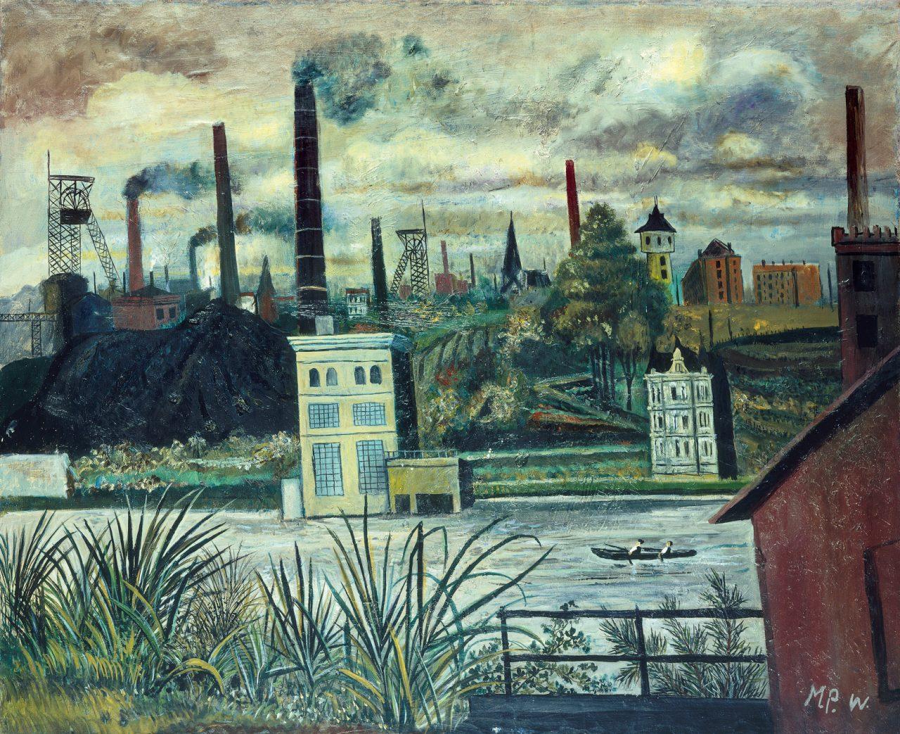 Landschaft an der Ruhr
