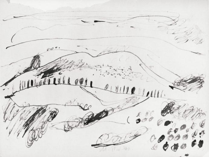 Landscape at Pero (Siena) I