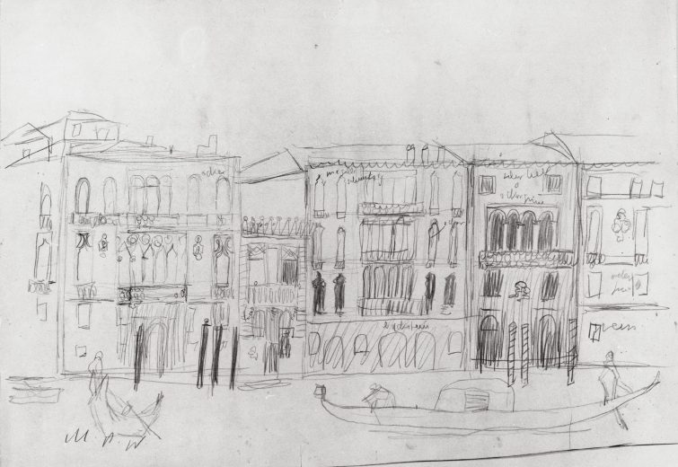 Venice, Palazzi on the Canal Grande