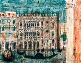 Venice, Ca' d'Oro 1950
