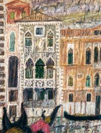 Venice, Ca' di Desdemona 1950
