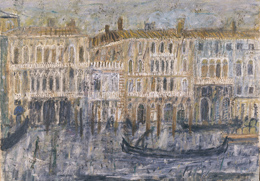 Venice, Palazzi on the Canal Grande 1956