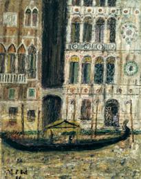 Venice, Palazzo Dario 1950